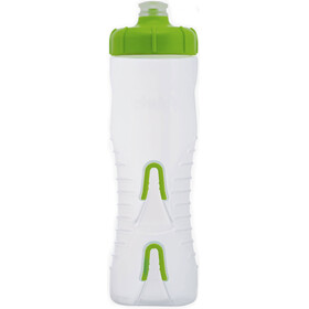 Fabric Cageless Bidon 750ml groen/transparant